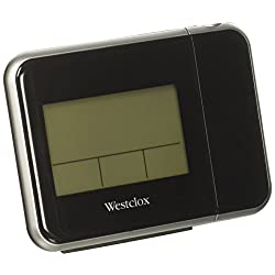 Westclox Digital LCD Projection Clock