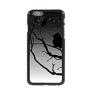 LZX Lonely Owl Design Aluminum Hard Case for iPhone 6 Plus