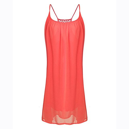 Trapèze 365 Manche À Col Fleurs Robe Rouge Femme Sans Rond shopping wnZqSTPnE