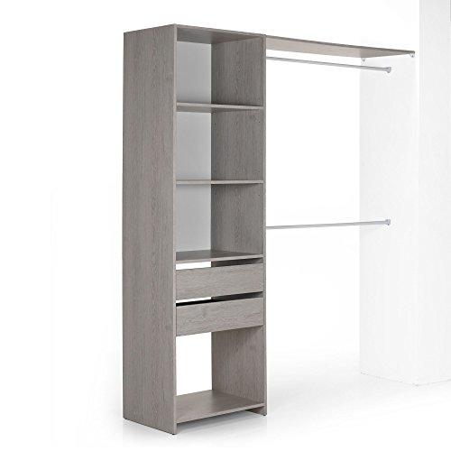 rangement placard alinea. Black Bedroom Furniture Sets. Home Design Ideas