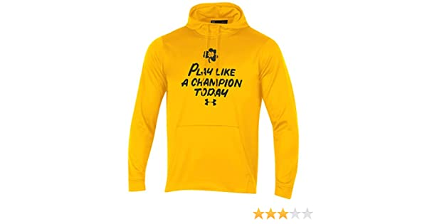 c05cd96a Under Armour Notre Dame Fighting Irish Play Like a Champion Today Fleece  Hoodie
