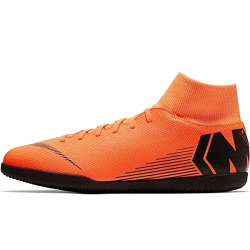Fußballschuhe Unisex Superflyx 6 Erwachsene Mehrfarbig Orange Nike Total Black Total Club Ic 810 Black Orange t dTAqpwwYxn