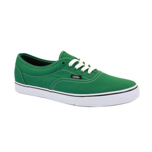 Vans Authentic Lo Pro - Zapatillas de skate, Unisex Verde