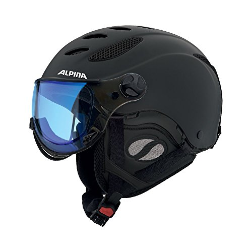 Alpina Men's Jump JV VHM Ski- and snowboard helmet black Head circumference 58-60 cm 2016 Ski & Snowboard - And Ski Alpine Snowboard