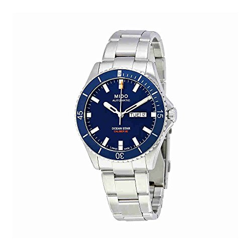 Mido Ocean Star Captain V M026.430.11.041.00 Blue / Silver Stainless Steel Analog Automatic Men's Watch