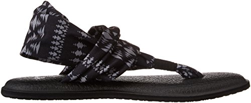 Prints 2 Natural Tribal Sanuk Infradito Koa Bnkt Nero Black Yoga Sling Donna tFEwTqE