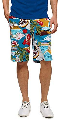 Loudmouth Golf Vegas Shorts - 32 (John Daly Golf Pants)
