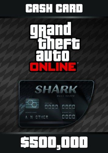 Grand Theft Auto Online: Bull Shark Cash Card - PS3 [Digital Code] (Auto Code Grand Online 5 Theft)