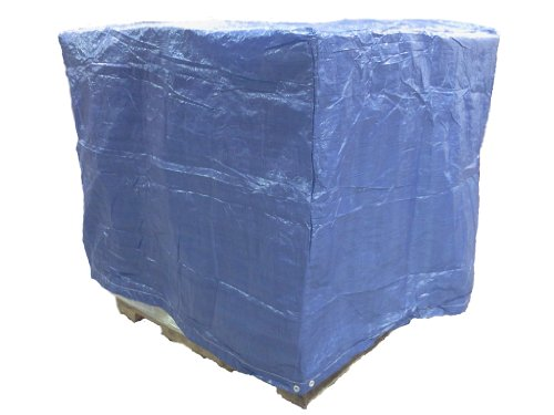 - 4 Ft. X 5 Ft. X 4 Ft. Blue Poly Pallet Cover