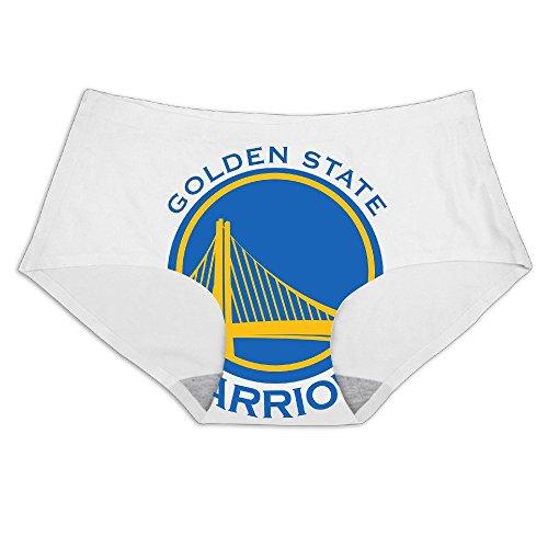MeiSXue Women's Golden State Basketball Team Logo Ice Silk Briefs ()