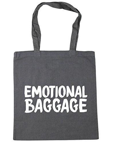 x38cm Gym litres Shopping HippoWarehouse Tote Emotional 42cm Bag Baggage Graphite Beach Grey 10 Iqwq1ga8x