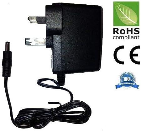 9 V Boss RC-30 estación de fuente de alimentación de sustitución adaptador de velcro