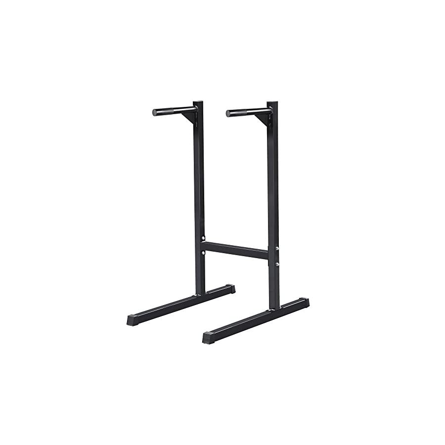 Heavy Duty Dip Stand Parallel Bar Bicep Triceps Home Gym Dipping Station