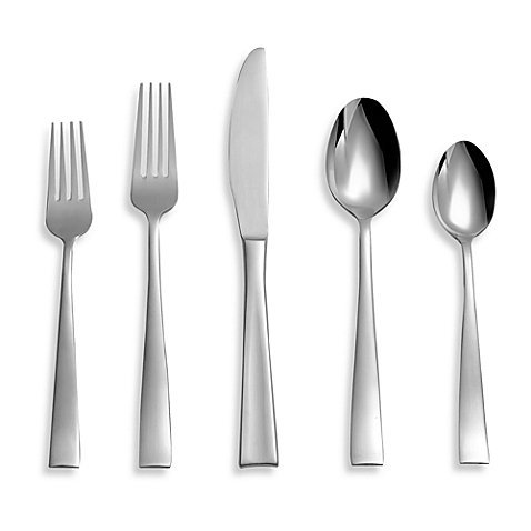 Satin 20-Piece Flatware Set by Cambridge Arden