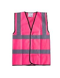 Mens Hi Vis Safety Reflection Waistcoat Workwear Vest