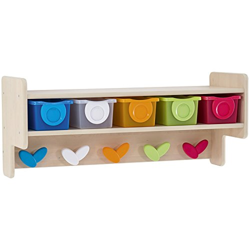 Nathan 371168 Wall-Mounted Changing Unit, Multi Color