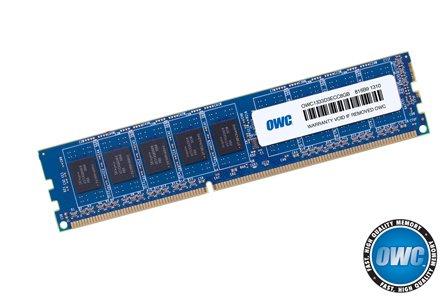 OWC DDR3 8.0GB ECC PC-10600 1333MHz SDRAM PC3-10600 ECC For Mac Pro & Xserve 'Nehalem' & 'Westmere' models.Retail Pack Single With UPC Model OWC1333D3ECC8GB-S