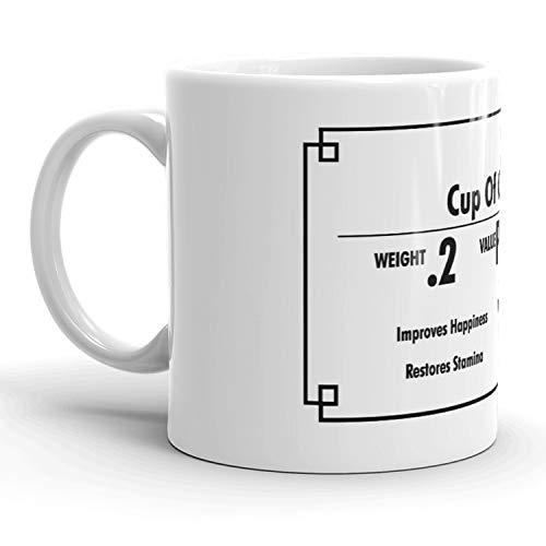 ess Funny Weight Value Ceramic Coffee Drinking Mug -11oz ()