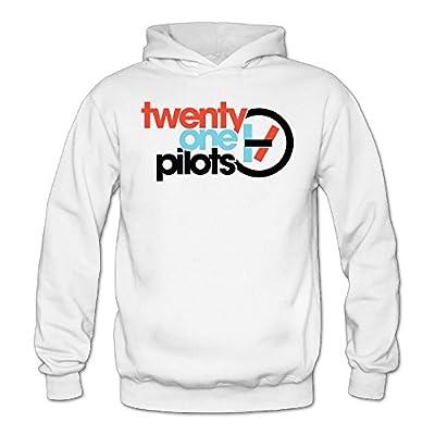 Custom Twenty One 21 Pilots Women's Long Sleeve Hoodie White