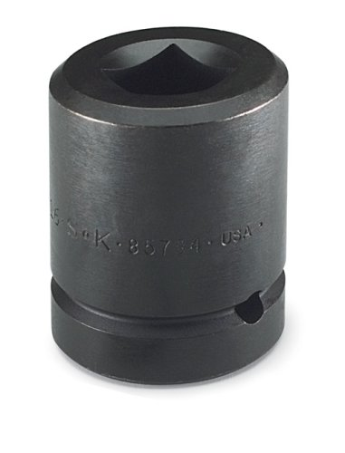 SK Hand Tools 85791 1-Inch Drive 6 Point Deep Metric Budd Wheel Socket with 41-Millimeter Hex