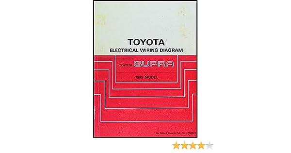 1989 toyota supra fuse diagram 1989 toyota supra wiring diagram manual original toyota amazon  1989 toyota supra wiring diagram manual
