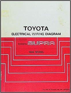 1989 toyota supra wiring diagram manual original: toyota: amazon.com: books  amazon.com