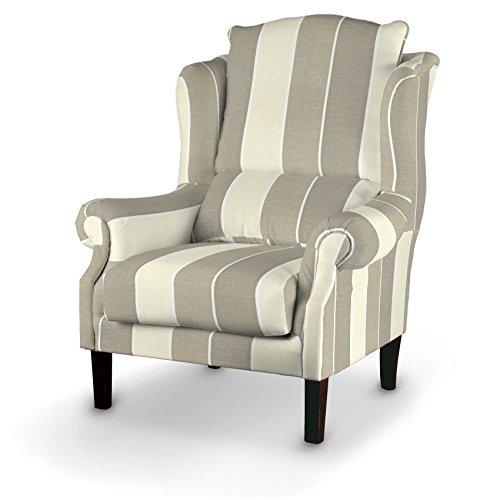 Dekoria Sessel 63 x 115 cm beige-creme