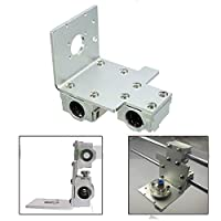 Reprap Prusa i3 3D Printer Parts X Axis Printing Head X Metal Extruder Carriage from kuang