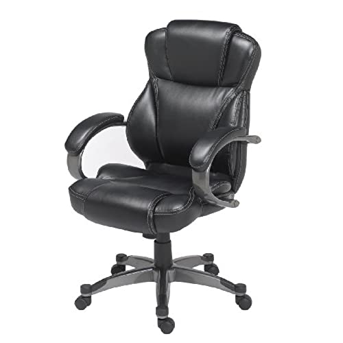 Genuine Leather Chair: Amazon.com