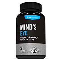 #1 Natural Brain Function Support for Memory, Focus & Clarity - Mental Performance Nootropic - Physician-Formulated Brain Booster To Provide Optimum Blend Of St. John's Wort, Ginkgo Biloba, DMAE, L-Glutamine & More