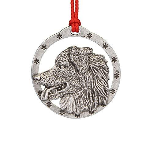 Australian Shepherd Pewter Ornament, -