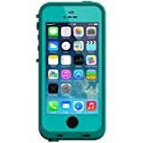 LifeProof FRE SERIES Waterproof Case for iPhone 5/5s/SE - Retail Packaging - TEAL (DARK TEAL/TEAL)