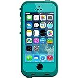 LifeProof FRĒ SERIES Waterproof Case for iPhone 5/5s/SE - Retail Packaging - TEAL (DARK TEAL/TEAL)