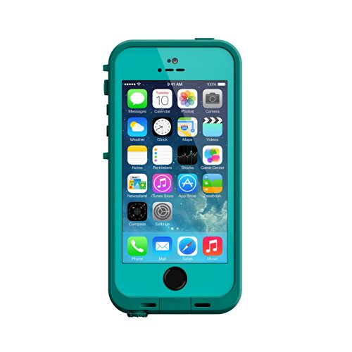 Price comparison product image LifeProof FR SERIES Waterproof Case for iPhone 5/5s/SE - Retail Packaging - TEAL (DARK TEAL/TEAL)