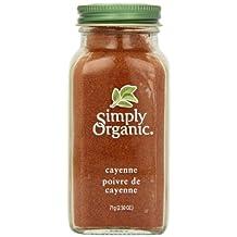 Simply Organic Organic Cayenne Pepper, 71 gm