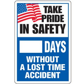 Safety day tracker