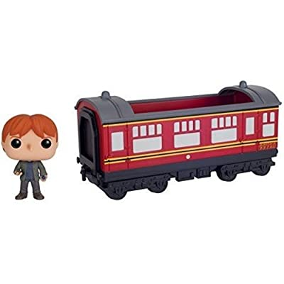 Funko POP Rides: Harry Potter - Hogwarts Express Train car with Ron Weasley Action Figure: Funko Pop! Rides:: Toys & Games [5Bkhe0201795]