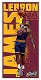 Lebron James Cleveland Cavaliers Slam Dunk Beach