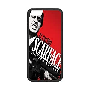 iPhone 6 Plus 5.5 Inch Cell Phone Case Black Al Pacino Scarface JSK904348