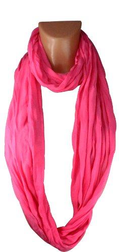 Tube Cou Femmes Plusieurs Souple Homme En Pink Coloris Echarpe Matériau Tour Xxl Lisse Loop De Châle Et 818xUnpX