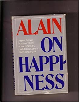 Book Alain on happiness