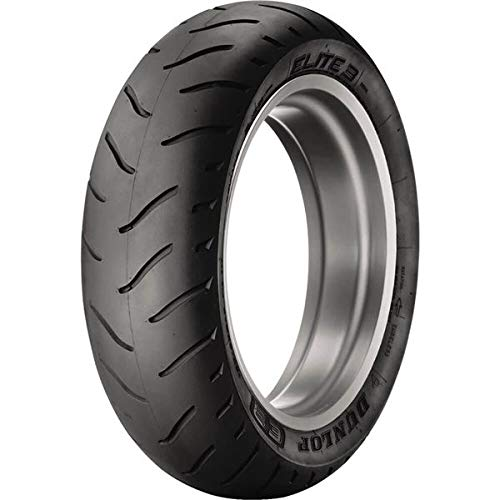 Dunlop Elite 3 Radial Touring Tire - Rear - 180/60R16 , Position: Rear, Rim Size: 16, Tire Application: Touring, Tire Size: 180/60-16, Tire Type: Street, Load Rating: 80, Speed Rating: H, Tire Construction: Radial 428056 (3 Tires Elite)