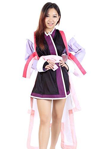 Destiny Video Game Costume (De-Cos Mobile Suit Gundam Seed Destiny Captain Clyne Lacus Outfit V2 Set)