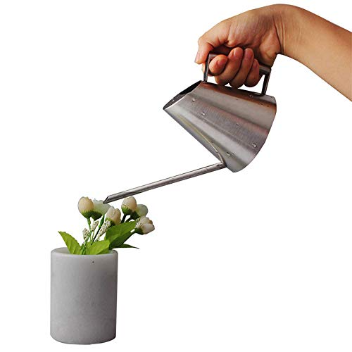 - ZYZ Watering Can, Stainless Steel Watering Can Pot Indoor House Plants Long Spout Watering Can for Small Apartment Plants Keep Them Healthy