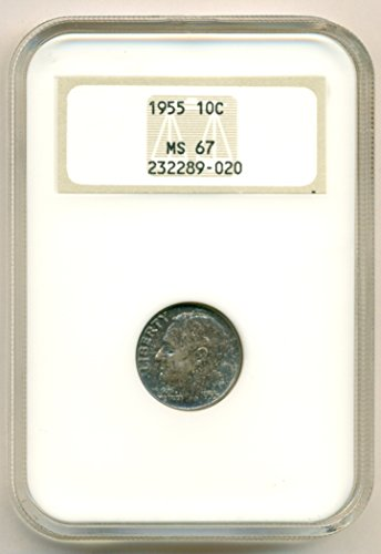 1955 Roosevelt Color Dime MS67 NGC