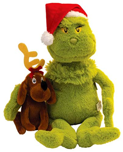 The Manhattan Toy Company Grinch and Max Plush