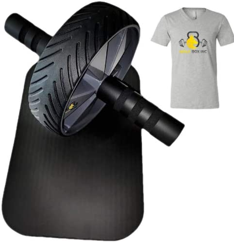Ab Roller Wheel - Abs Workout Equipment - Ab Roller - Ab Wheel Roller for Core Workout - Exercise Equipment for Home Gym 1