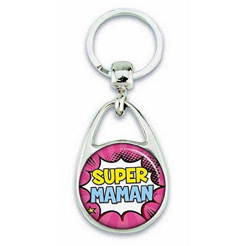 Keychain Mom f Super Angora ComicsGeschenkidee rWQdoCxBe