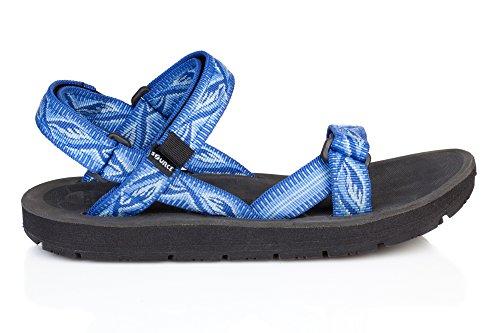 para Sandalias colores de Source sintético Fresco Varios de Unicam mujer Azul vestir Blue qXRndwT