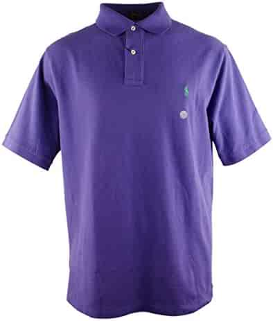 24e417ed Polo Ralph Lauren Men's Big And Tall Classic Fit Short Sleeve Polo Shirt-RP-